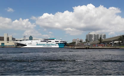 Port Everglades Bahama Shuttle Boat to Freeport Bahamas