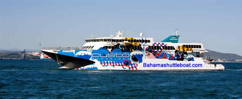 Offers Bahamas Fast Ferry Express Bahama Shuttle Boat
